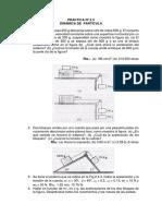 Práctica No 2.3 Dinámica Partícula