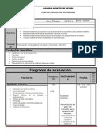 Plan de Evaluacion Mate 2 b1 16-17