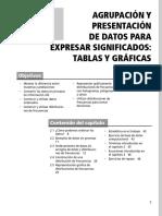 DISTRIBUCIÓN DE FRECUENCIA POR INTERVALOS Y GRAFICOS clase 2.pdf