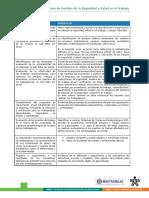 Planificación Del Sistema de Gestión de La Seguridad y Salud en El Trabajo