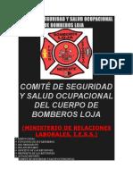 Comité de Seguridad y Salud Ocupacional Del Cuerpo de Bomberos Loja