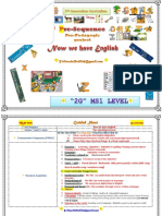 2 G - MS1 Level Pre-Sequence - Now We Have English