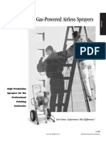 GM Gas-Powered Airless Sprayers