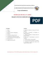 IT 42 2014 Projeto Técnico Simplificado