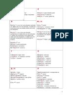 Список глаголов