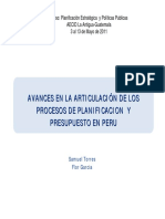 Ayuda Memoria - Plan Nacional de La Modernización de La Gestión Pública 3