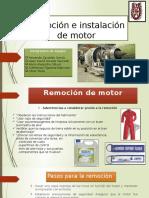 Remoción e Instalación Del Motor aeronautico