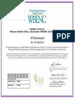 2016 the Media Pro WOSB Certificate