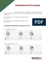 16 07 Fiche Action Harmonisation d Un II v I en Voicing