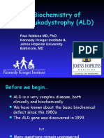 Documents.tips the Biochemistry of Adrenoleukodystrophy Ald