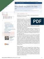La Política Desde Un Punto de Vista Racional_ Modelos Económicos en México y Sus Impactos en El Crecimiento Económico