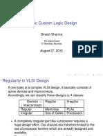Semi Custom Logic