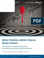 Better Evidence, Better Choices, Better Schools