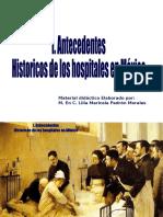 antecedentes de hospitales en México