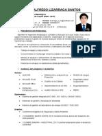 CV Luis Lizarraga Santos