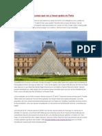 Las 10 Principales Cosas Que Ver y Hacer Gratis en París