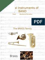 instrumentfamilies band
