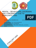 Mental Disorders and Comorbidity