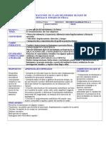 Planeacion Secuencia 1 Ciclo 2014-2015 FISICA
