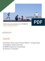 2010 - WiMAX Forum - Jakarta Indonesia - Nov 10 Rel3