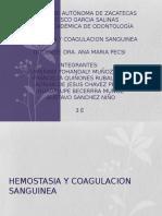 Hemostasia y Coagulacion Sanguinea