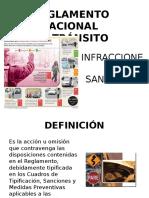 INFRACCIONES DE TRANSITO.pptx