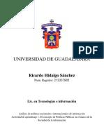 Analisis de Pol Nac e Int de Info - Hidalgo Sánchez Ricardo Uni01 Act000 Rev00