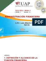 ADM.FINANC. UAP
