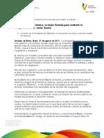 01 08 2011 - El gobernador, Javier Duarte de Ochoa, afirma que las inversiones de Brasil contribuirán con las acciones para reducir la pobreza
