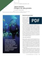 Narcosis en buceo de profundidad