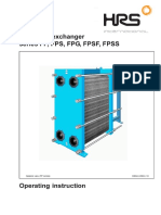 HRS Plate Heat Exchangers Manual