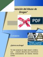 DROGAS PREVENCIÓN