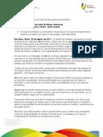 02 08 2011 - El gobernador, Javier Duarte de Ochoa, se reunió con más de 50 empresarios brasileños