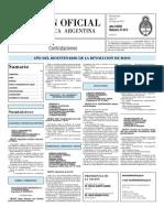 Boletin Oficial 31-05-10 - Tercera Seccion