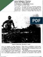 Japanese Infantry Tactics