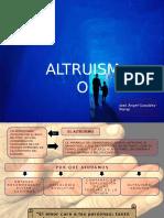 Mapa Conceptual El Altruismo