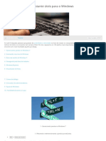 125 Teclas de Atalho Bastante Úteis Para o Windows - Hardware