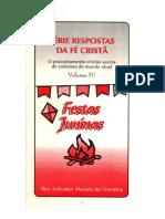 Série Respostas da Fé Cristã Vol. 4 - Festas Juninas - Salvador M. da Fonsêca.pdf