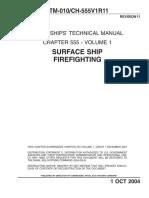 NSTM 555V1 Rev11 (Surface Ship Firefighting)