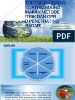 Analisis Bawah Permukaan Uin Sunan Gunung Djati Bandung Ppt
