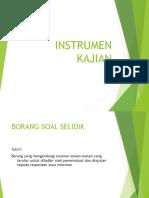 INSTRUMEN KAJIAN SOAL SELIDIK.ppt pdf.pdf