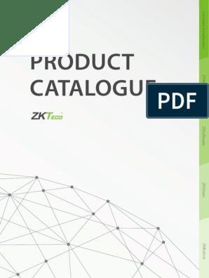 ZKTeco Product Catalogue 2016 | Access Control | Radio
