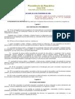 01 - Lei 8.987-95 – Regime de Concessão e Prestação de Serviços Públicos