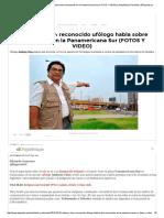 Anthony Choy_ Reconocido Ufólogo Habla Sobre Humanoide en La Panamericana Sur (FOTOS Y VIDEO) _ Actualidad y Policiales _ ElPopular