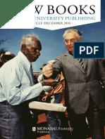 Monash University Publishing Catalogue, July-December 2016