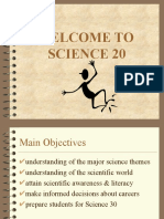 welcom to science 20