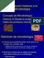 1. Introducción Histórica a La Microbiología