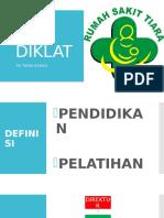 Program Pembentukan Diklat Rumah Sakit