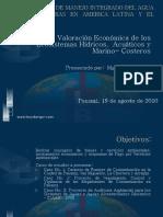 Valoracion Economica Recurso Hidrico y Costas