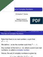 COMALGE Algebra